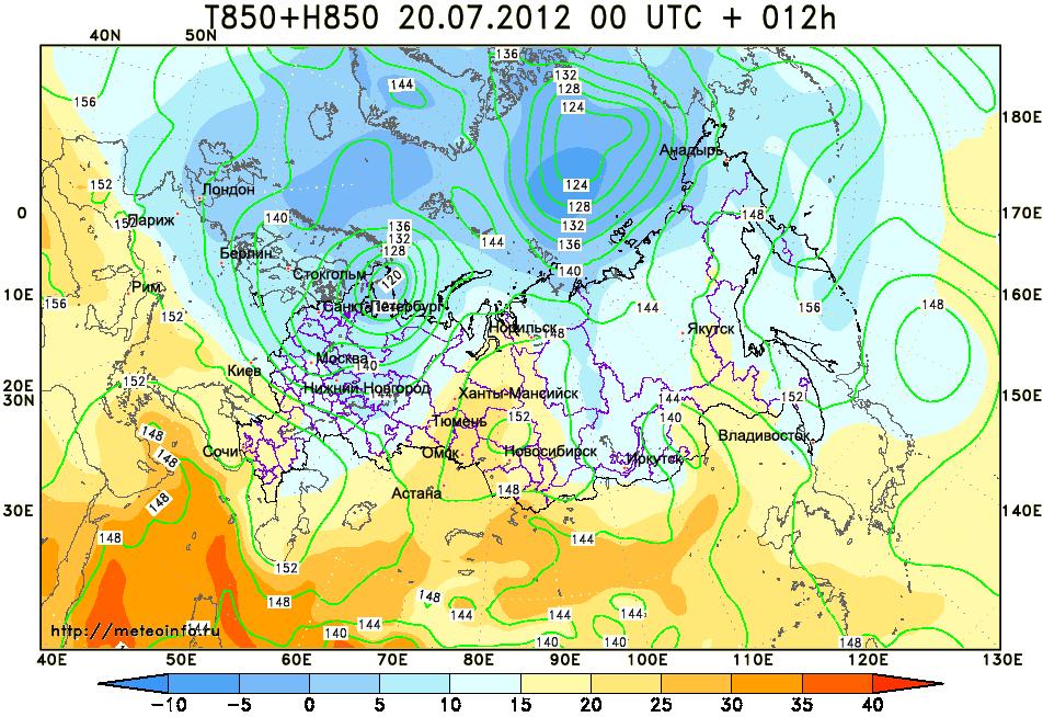 Карты погоды россии это такая карта